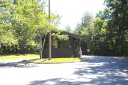 Grove Campground Entrance Station