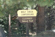 Photo: WOLF CREEK CALIFORNIA