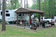 Campers at Carter Cove