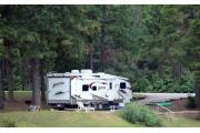 Most sites at R. Shaefer Heard Campground will accomodate RVs or tents.