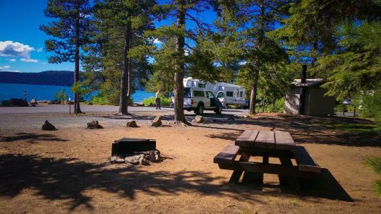 Camping At Link Creek Or