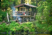 Photo: KEGAN CREEK CABIN