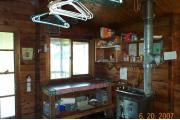 Photo: SHELTER BAY CABIN interior 2