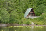 Photo: HARVEY LAKE CABIN