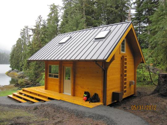 Anan bay cabin ak facility details for National forest service cabins