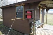 Photo: ALSEK RIVER CABIN