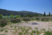 Photo: JOES VALLEY PAVILION GROUP SITE A