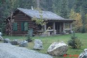 Photo: KELLY FORKS CABIN