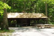 Sherando Lake Group Picnic  Shelter