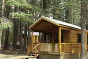 Photo: MANZANITA LAKE CAMPING CABINS