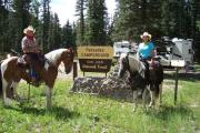 Photo: PALISADES HORSE CAMP