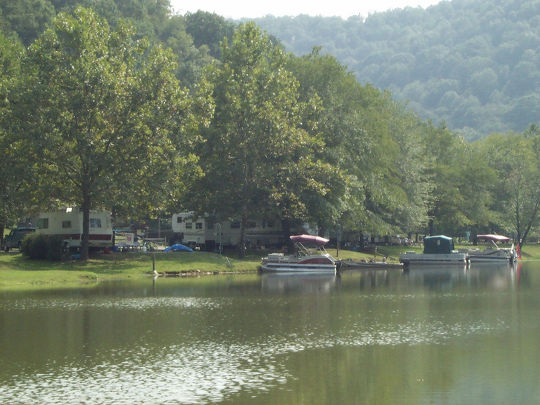 Camping at east fork wv wv for Wv hunting and fishing license