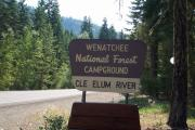 Photo: CLE ELUM RIVER CAMPGROUND MAIN GATE