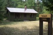 Photo: TANEUM CABIN SIGN