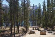 Photo: STANLEY LAKE CAMPGROUND