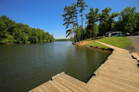 Campground details for Badin lake fishing
