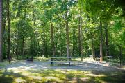 Photo: CANEBRAKE HORSE CAMP: Typical camp site