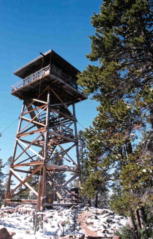 Spruce Mtn Fire Lookout Tower Wy Facility Details