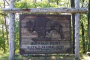 Buffalo Point sign