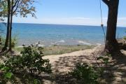 Photo: LAKE MICHIGAN AT ST. IGNACE
