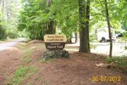 Photo: YOUNG BRANCH HORSE CAMP Entrance along Citico Creek Road