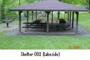 Photo: NORTHFIELD BROOK LAKE GROUP SHELTERS