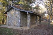 Photo: JACKRABBIT MOUNTAIN: TYPICAL RESTROOM/SHOWERS