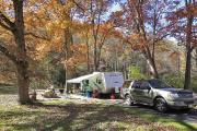 Photo: STANDING INDIAN CAMPGROUND: TYPICAL CAMPSITE