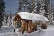 Photo: SNOW SURVEY CABIN