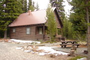 Photo: ANTHONY LAKE GUARD STATION