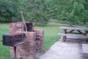 Sunrise Cabin Patio with Grill and Picnic Table