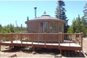 Photo: CARTER MILITARY TRAIL YURT