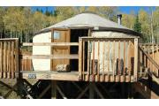 Photo: GRIZZLY RIDGE YURT