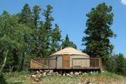 Photo: LIMBER FLAG YURT