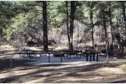 Photo: JUNCTION CREEK CAMPGROUND Group Area