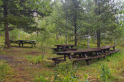 Photo: ALLRED FLATS GROUP PICNIC SITE