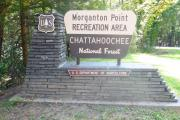 Morganton Point Entrance Sign
