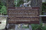Photo: BIG ELK GUARD STATION