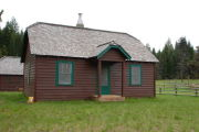 Photo: LODGEPOLE GUARD STATION