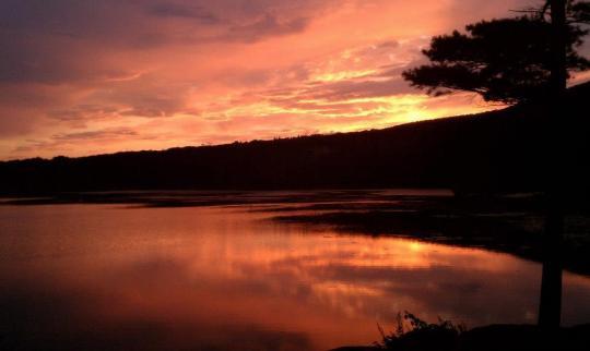 Camping at north south lake campground ny for Nysdec fishing license