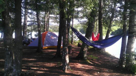 Camping At Saranac Lake Islands Ny