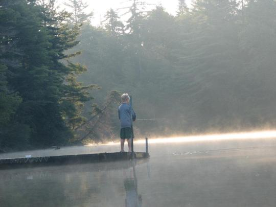 Camping at eighth lake campground ny for Ny dec fishing license