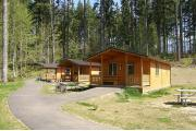 Camping at l l stub stewart memorial state park or for Stub stewart cabins