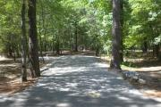 One of our many paved campsites at Lake Wateree.  Site #66