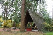 Photo: A-Frame Shelter